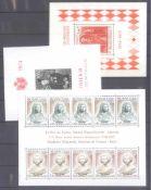 MONACO 1953-1989, Katalogwert 970,- Europostfrische Sammlung hauptteilig von 1962 bis 1981 mitvielen