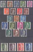 ÖSTERREICH 1945 GRAZER ÜBERDRUCKE auf HitlersatzMichelnummern 674-696 komplett postfrisch Pracht.