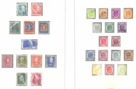 BUND 1949-1980in den Michel - Hauptnummern komplett gestempelte Sammlungin 2 SAFE Alben. Ab 1969