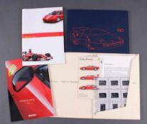 """Verschiedene Ferrari Broschüren1 Prospekt """"La Ferrari 2003"""", Hochglanz Broschüre, 44 Seitenüber"""