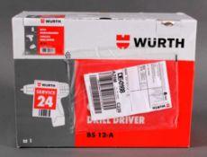 Würth Akku-Bohrschrauber BS 12-ANeu und Originalverpackt.