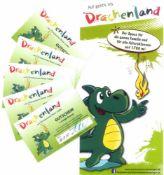 5 Eintrittskarten ins Drachenland in SchwetzingenDer Spaß für die ganze Familie und für alle