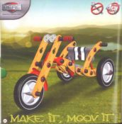Berg Moov Street Kit 01Holzbausatz für Kinder, zum Eigenbau eines Dreirades oderAutos.