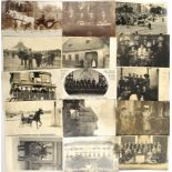 FOTOKONVOLUT, über 150 zivile Aufn. u. AK, um 1900-30er Jahre, Dtl. u. Österr., u. a. Portraits u.