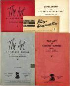 "4 KATALOGE SCHELLACKPLATTEN, London 1937-1956, meist Klassik, einige Abb.; dazu ""Telefunken-Decca"
