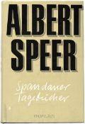 ALBERT SPEER (1905-1981), dt. Architekt und Reichsminister für Rüstung u. Kriegsproduktion, Tinten-