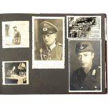 FOTOALBUM EINER WEST-BERLINER FAMILIE, ca. 200 Aufn., 30er-60er Jahre, meist nach 1945, dabei: