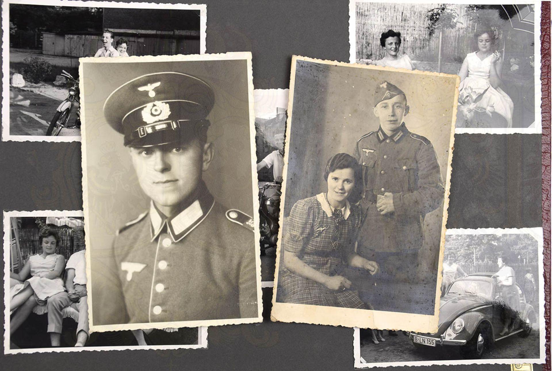 FOTOALBUM EINER WEST-BERLINER FAMILIE, ca. 200 Aufn., 30er-60er Jahre, meist nach 1945, dabei: - Bild 4 aus 4