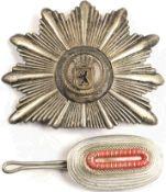 SATZ TSCHAKO-BESCHLÄGE f. Mannschaften der Westberliner Polizei, um 1955: Stern, Wappen m.