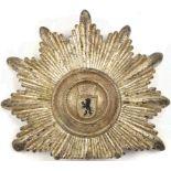 TSCHAKO-EMBLEM f. Leitende Beamte (Offiziere) der Westberliner Polizei, um 1955, Wappen m.