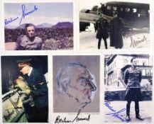 MISCH, ROCHUS, (1917-2013), Oberscharführer der LSSAH, Angehöriger des Führer-Begleitkommandos,