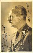 """PRINZ AUGUST WILHELM VON PREUßEN, (1887-1914), Sohn Kaiser Wilhelms II., Tinten-Widmung """"Austs"""