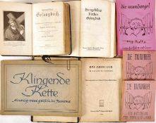 TEILNACHLAß DES PFARRERS PAUL-HEINZ GRUNOW, Konvolut Liederbücher: 3 Evangel. Gesangbücher, 1914