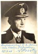 DÖNITZ, KARL, 1891-1980, Großadmiral, Befehlshaber der U-Boote u. letztes Staatsoberhaupt des