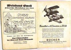 """FAHRTENBUCH DES BERLINER RUDERCLUBS """"SPREEHORT"""", Berlin-Grünau, 7 S. m. Einträgen 1922-1924, 19"""