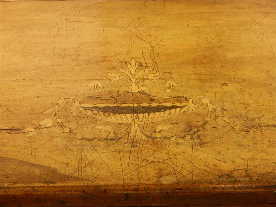 Lot 71 - Victorian Inlaid Walnut Music Cabinet