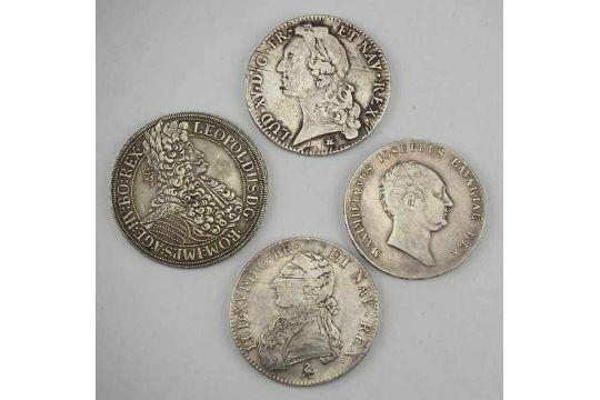 74 M252nzen 4 Silber M252nzenbayern Frankreich Und 214