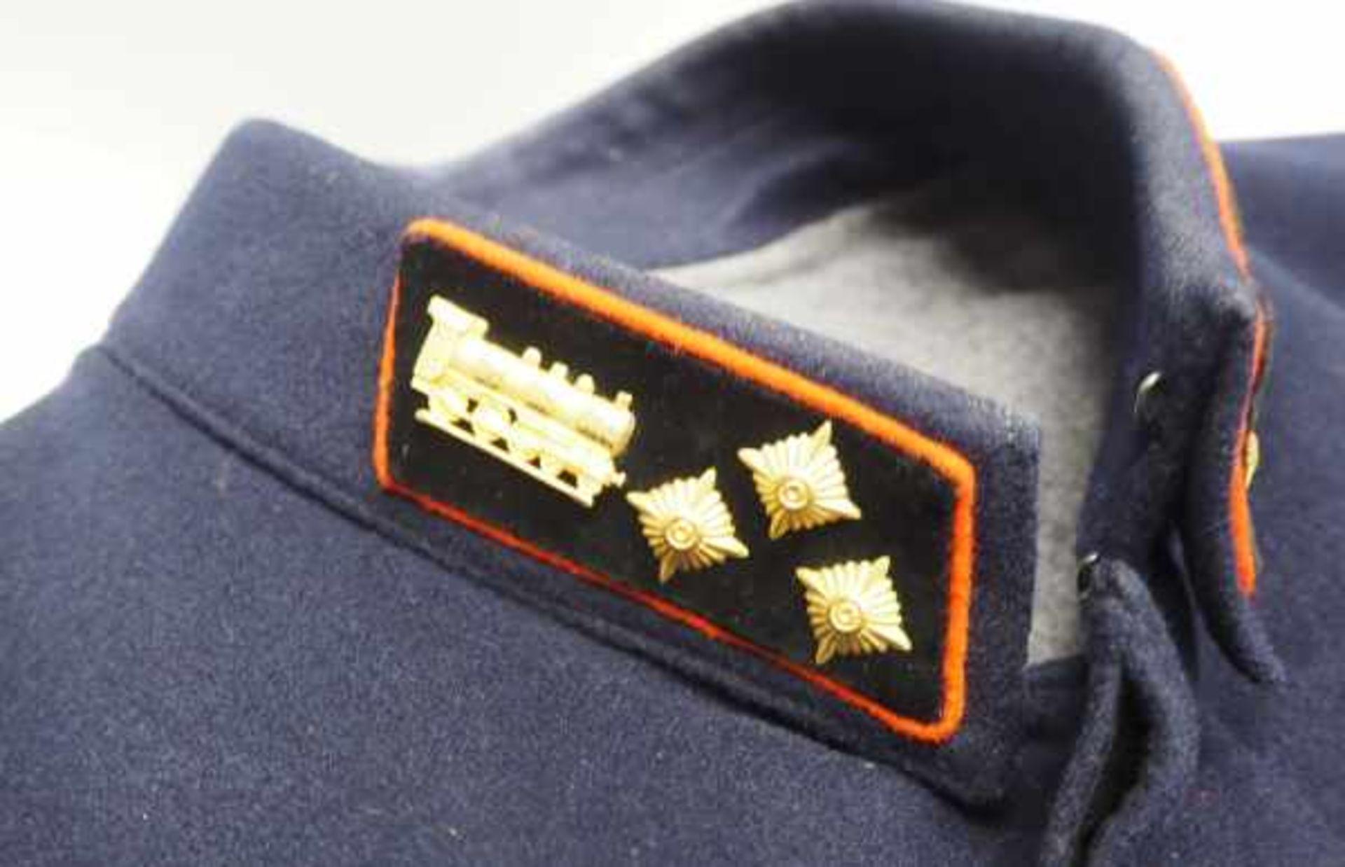 0.1.) Eisenbahn / Bergbau Eisenbahn - Sammlung Uniformierung.Sechs verschiedene Uniformjacken, teils - Bild 2 aus 2
