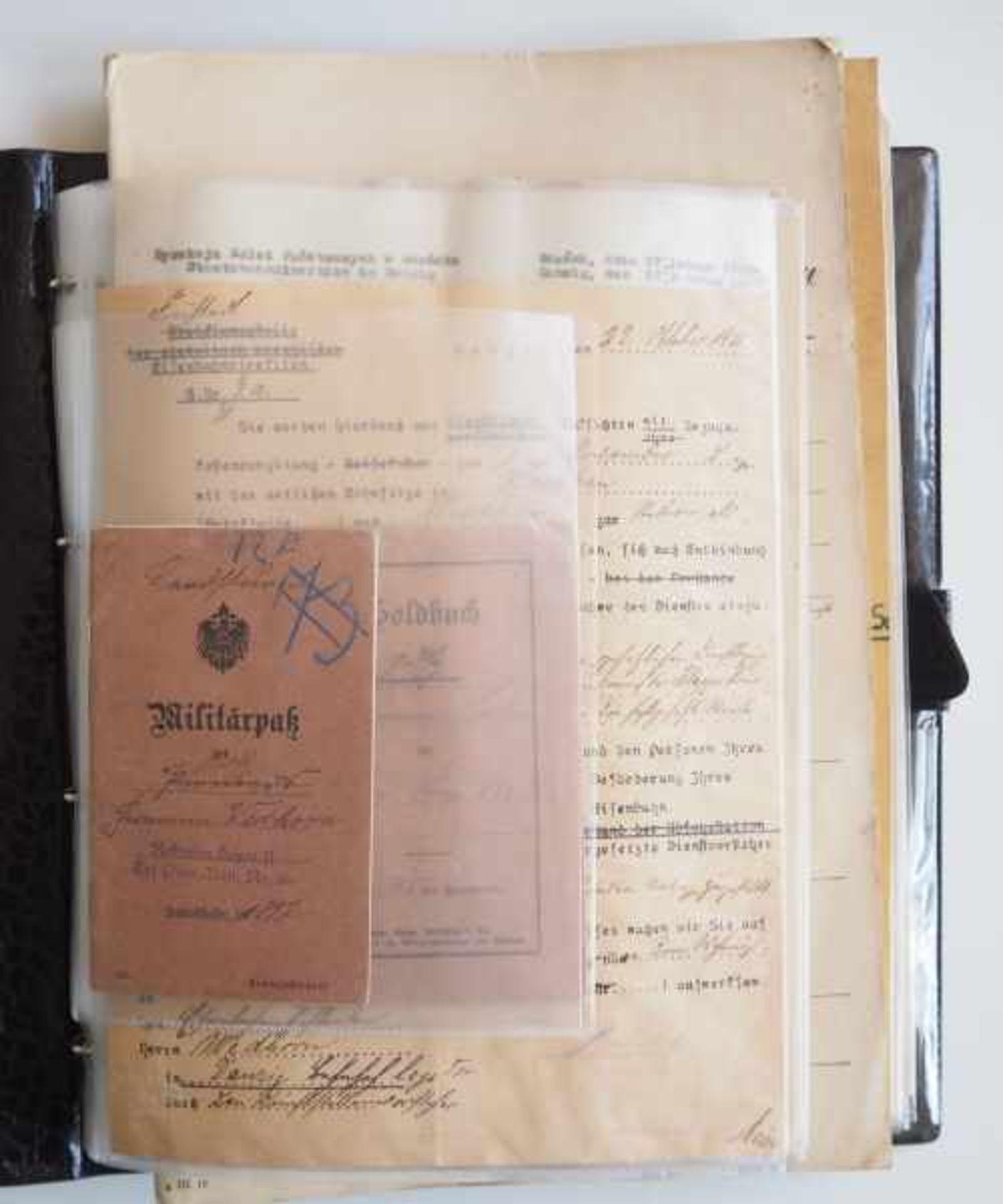 0.1.) Eisenbahn / Bergbau Eisenbahn - Umfangreicher Nachlass eines Eisenbahners aus Danzig.Sehr - Bild 3 aus 11