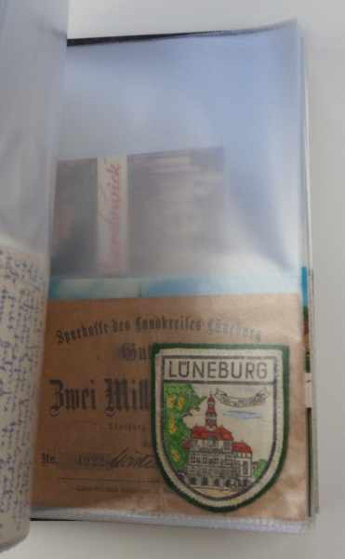 0.1.) Eisenbahn / Bergbau Eisenbahn - Ordner Dokumente.Broschüren, Ausweise, Postkarten etc.Zustand: - Bild 2 aus 5