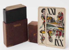Kartenspiel, F. Piatnik & Söhne, Wien, um 1900 Tarockblatt.