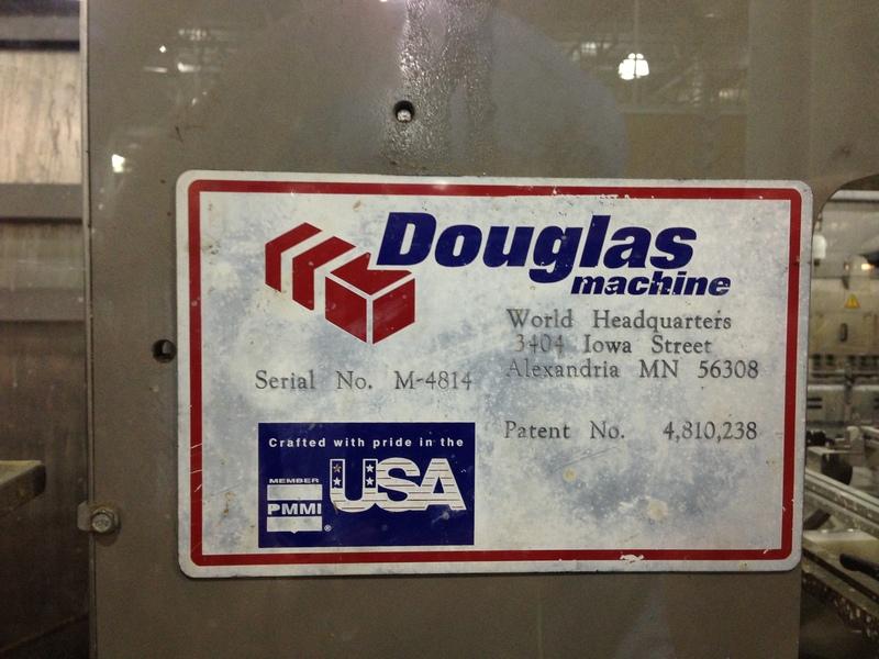 Lot 35 - Douglas Tray Former Packer, Year 2002
