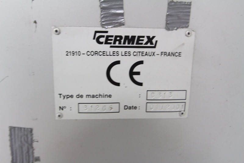 Lot 58 - Cermex Single Door Control Cabinet