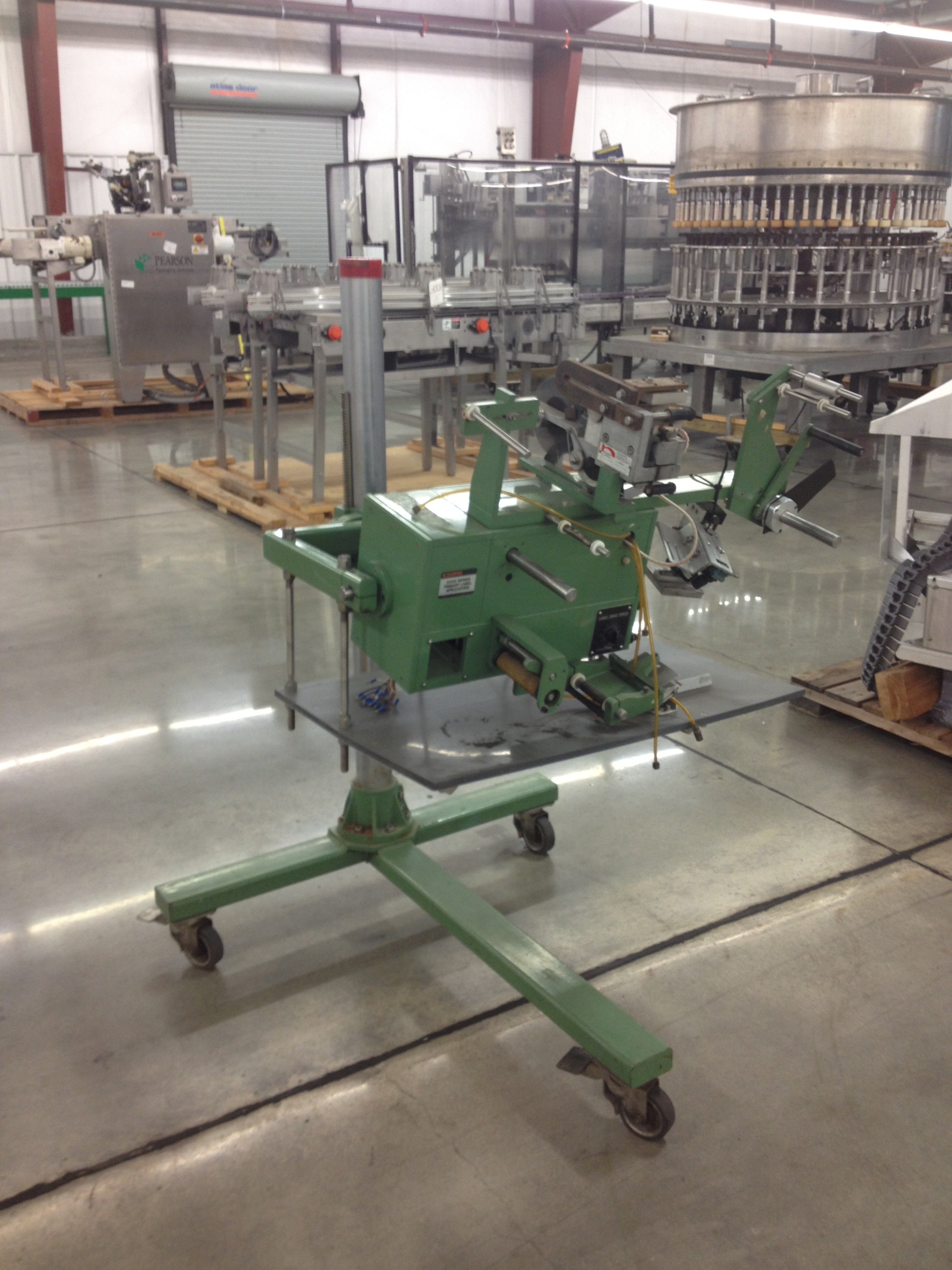 Lot 15 - Camtron Portable Pressure Sensitive Carton Labeler