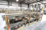 Lot 61 - Sentry Stainless Steel Pallet Conveyors, 50ft