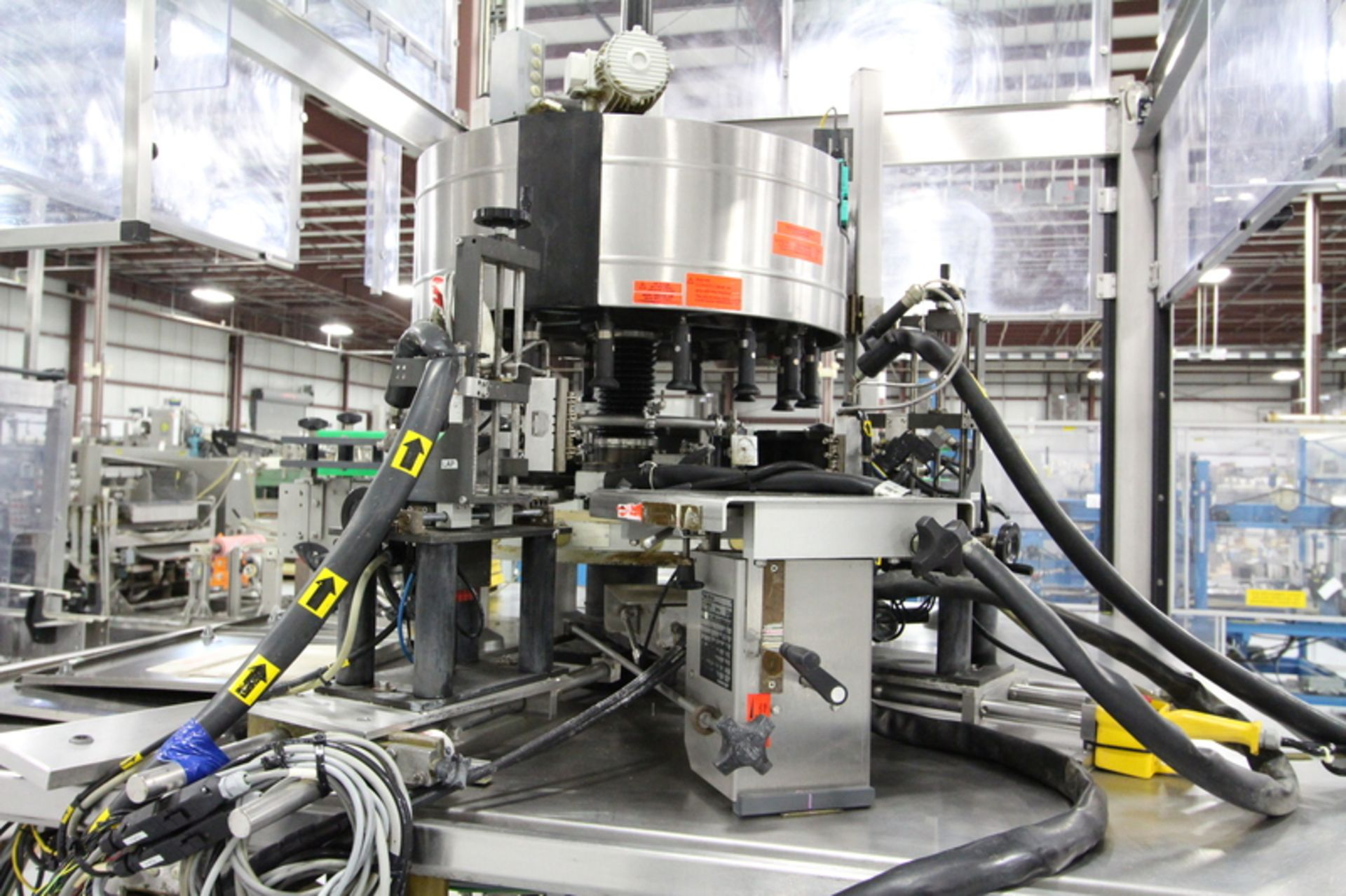 2003 Krones 18-Head Canmatic Wrap Around Rotary Labeler - Image 2 of 3