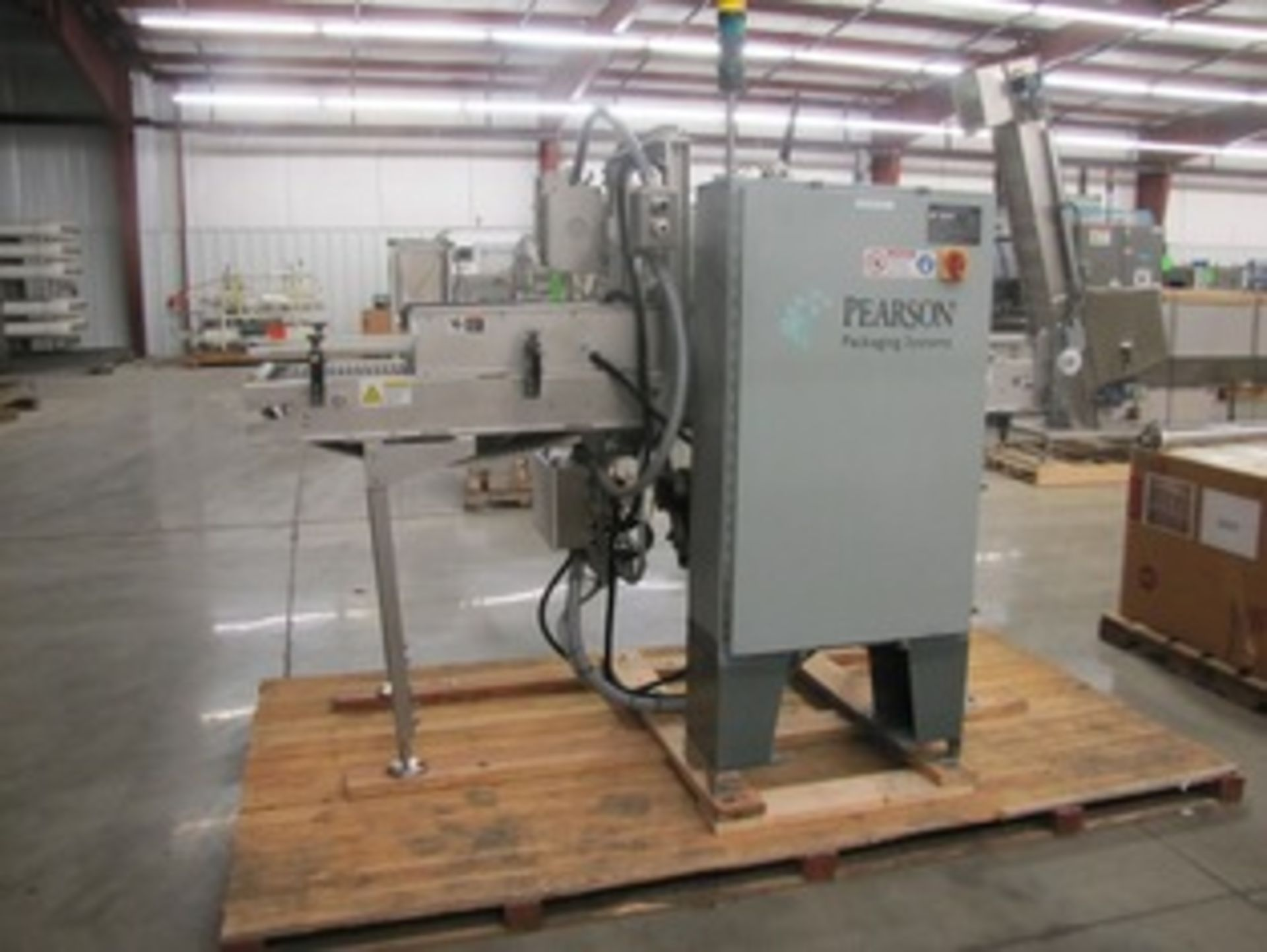 Pearson All S/S Top Level Case Sealer, Year 2003