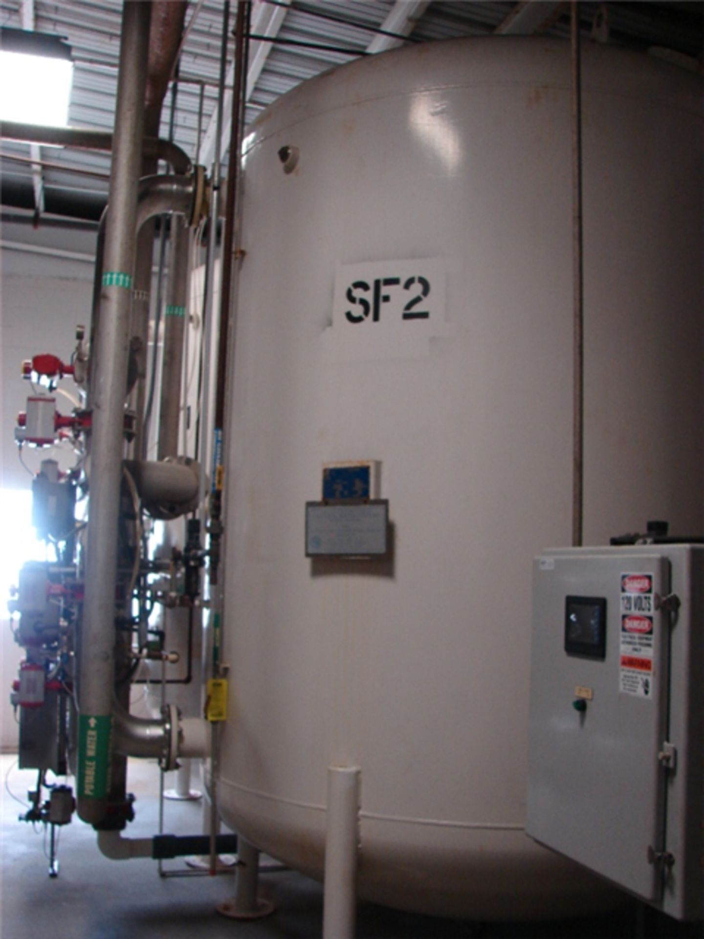 National Water Systems Sand/Carbon Media Filter Tank - Image 2 of 7