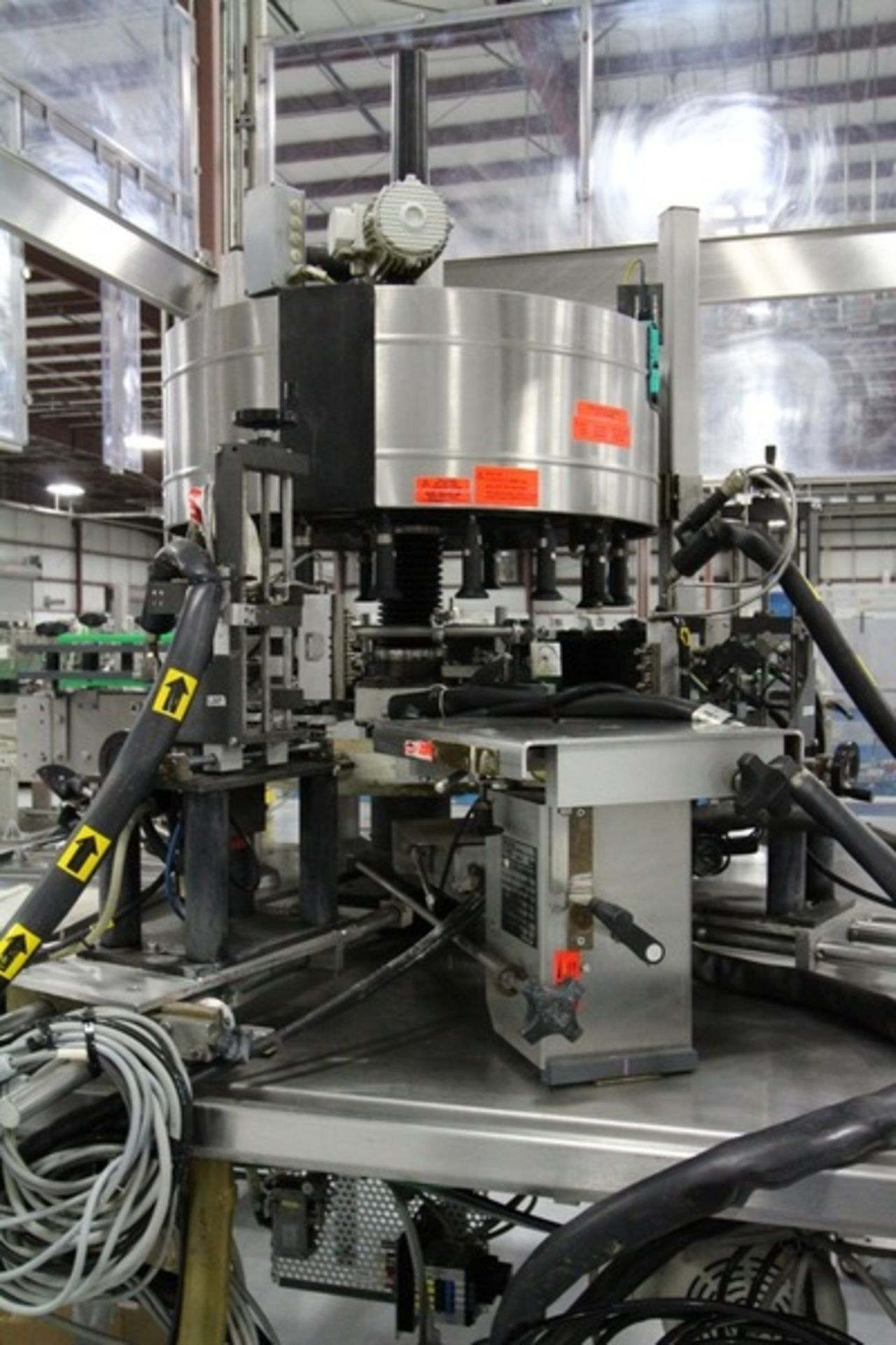 2003 Krones 18 Station Cut and Stack Labeler - Image 6 of 10