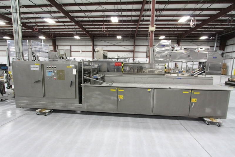Lot 25 - Arpac Shrink Wrapper Bundler with Heat Tunnel