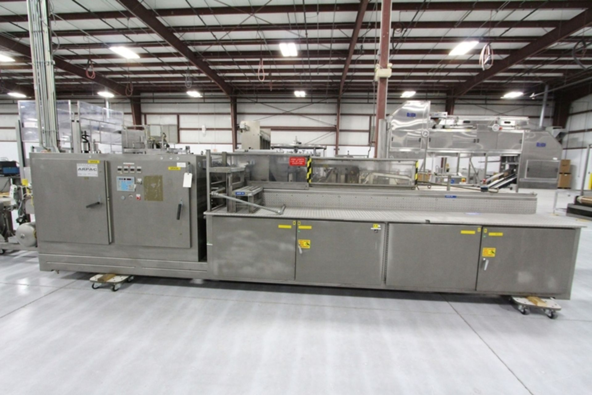 Arpac Shrink Wrapper Bundler with Heat Tunnel - Image 3 of 9