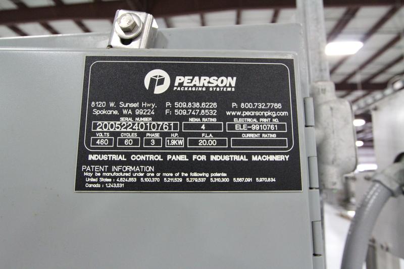 Lot 43 - Pearson C2240 Carton Combiner, Year 2005