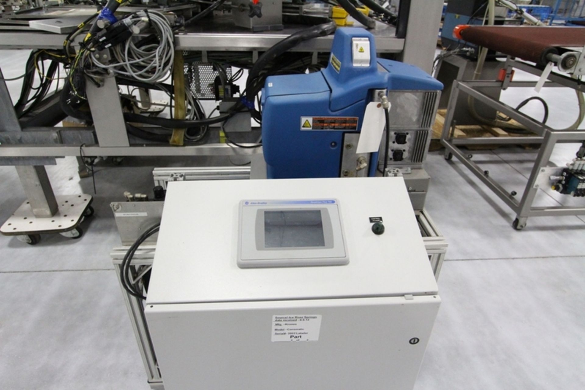 2003 Krones 18 Station Cut and Stack Labeler - Image 10 of 10