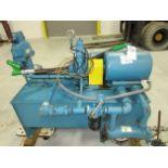 Sperry Vickers 20 HP Hydraulic Pump w/ Oil Tank