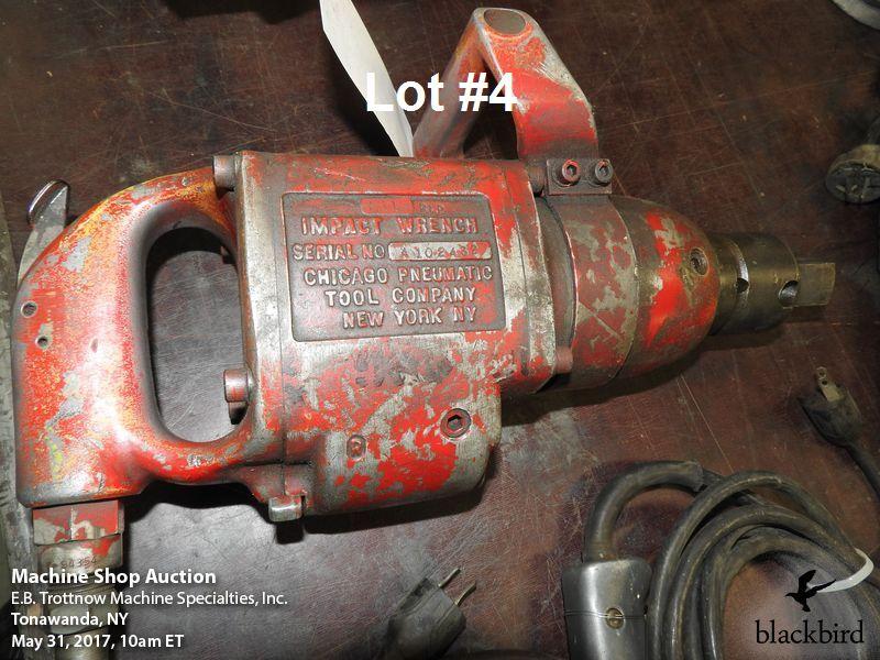 "Lot 4 - Chicago Pneumatic #611 1"" pneumatic impact wrench"