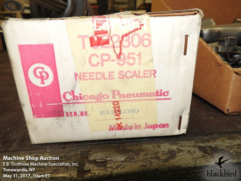 Lot 9 - Central Pneumatic 951 needle scaler