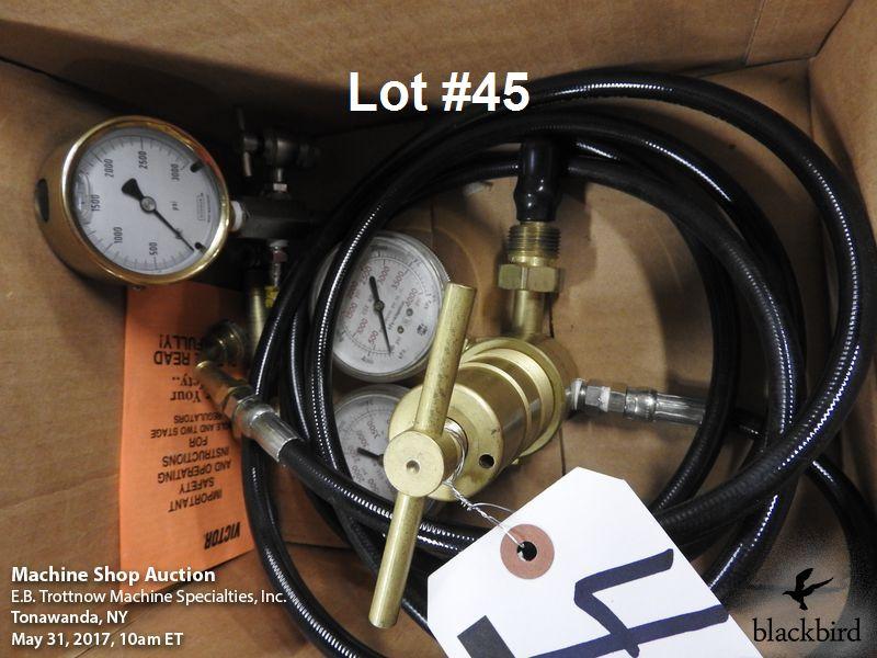 Lot 45 - Nitrogen machine gauges