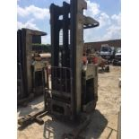 """Crown RR3520-45 Reach truck (240"""" lift. 36v, No battery or forks, Fully operational when battery..."""