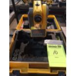 Trimble TS305 electronic Total Station. 3 extra battery packs. What you see pictured is included