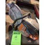 Husqvarna K760 concrete cut off saw