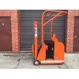 Automatic/Yale forklift 9 foot lift 2000lb. Cap 24 volt battery 110v charger Compact design