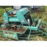 WACO hydrostatic drive dual head trowel machine. 10'x5' overall measurements. As is. Parts?