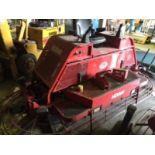 Allen Engineering Hydra-Drive Series HD560 riding trowel (diesel, 334 hours, 3055 lbs, serial #...