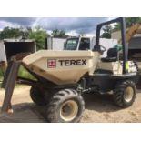 Terex Benford 3 Ton hydraulic concrete buggy. Diesel,Model # 30002DSP Z2952, Vin # SLBDNN0ZEY01AS011