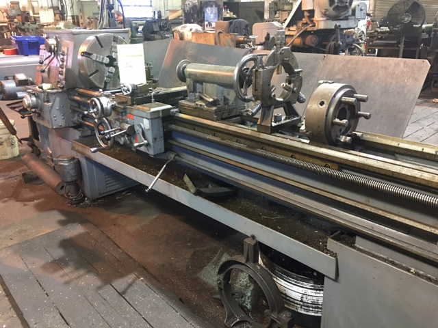 south bend turn ado lathe 17 x 8 bed gear and head fagor read rh bidspotter com South Bend Lathe ManualsOnline South Bend Lathe Serial Numbers