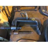 pair of Armstrong 106 C clamps
